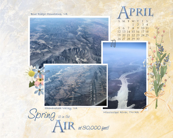 April Desktop