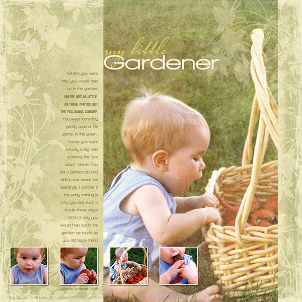 My Little Gardener