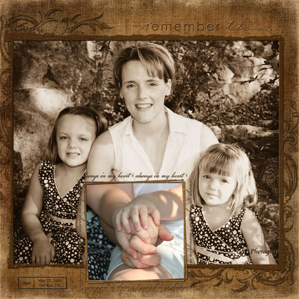 A mother and Daughters LO