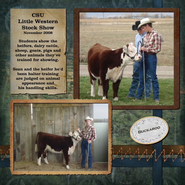 Sean at the CSU Little Western Stock Show, pg.2 of 2