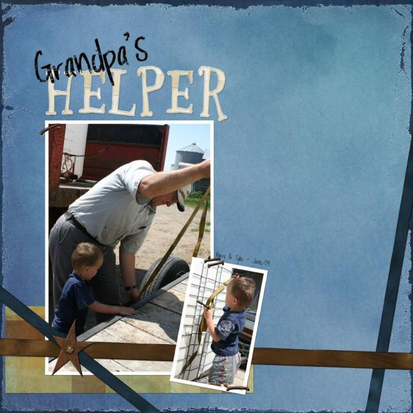Grandpa's helper