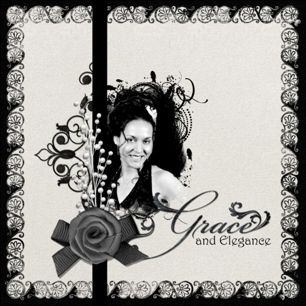 Grace and Elegance _Sat. Color Challenge