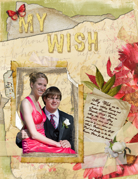 Jordan and Ashley Prom MY WISH