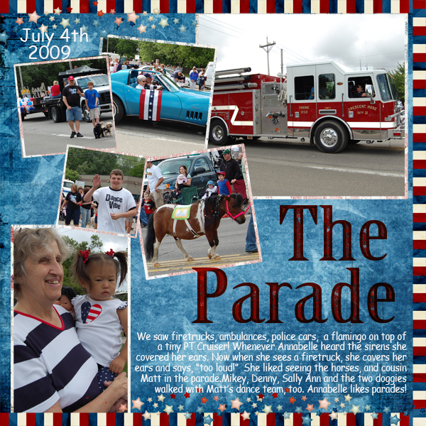 Parade right side