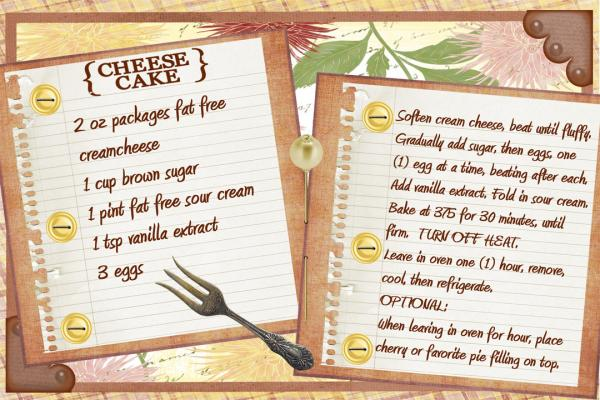 Fill Your Picnic Basket - Cheesecake Recipe