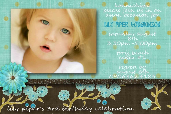 3rd Birthday Celebration