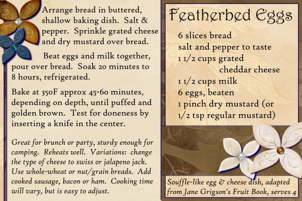 Featherbed Eggs