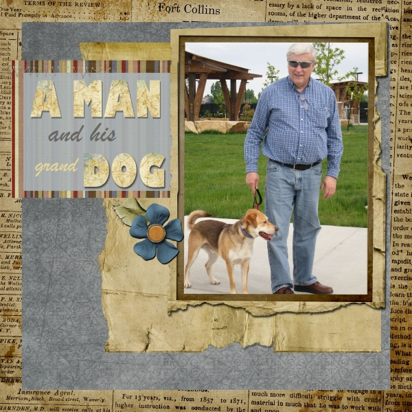 A MAN and His Grand DOG