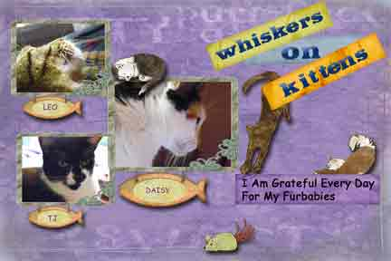 Day 20 -- Whiskers On Kittens