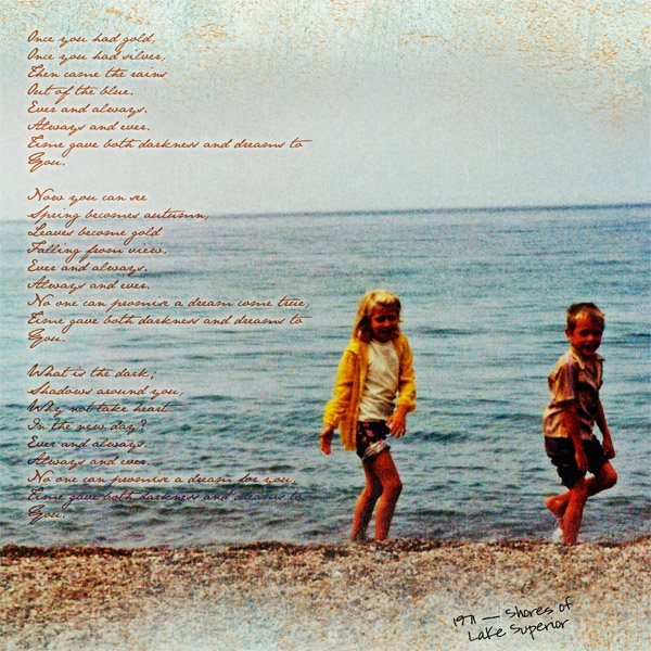 1971 -- shores of Lake Superior