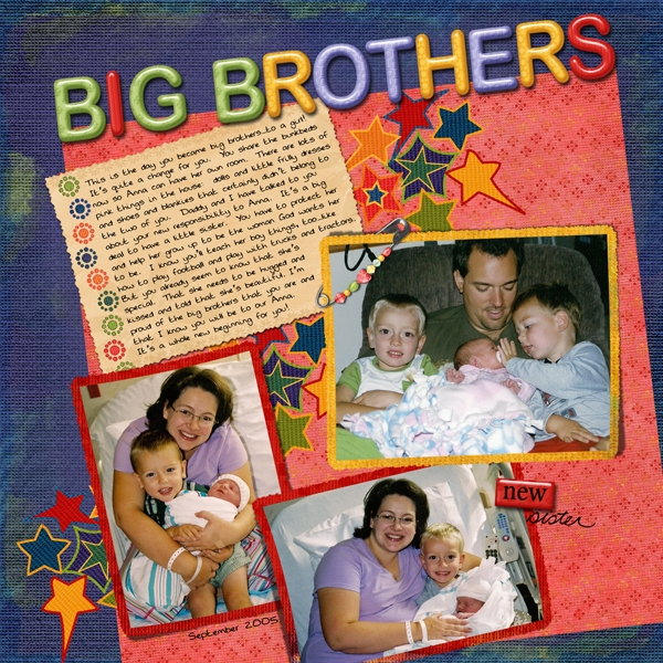 Sept Swap for Chanell: Big Brothers