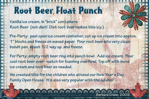 Root Beer Float Punch