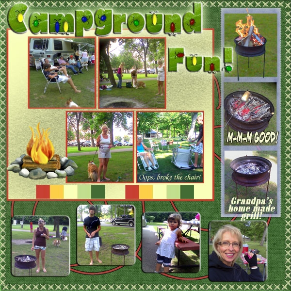 Sat. Color Challenge, Campground Fun!