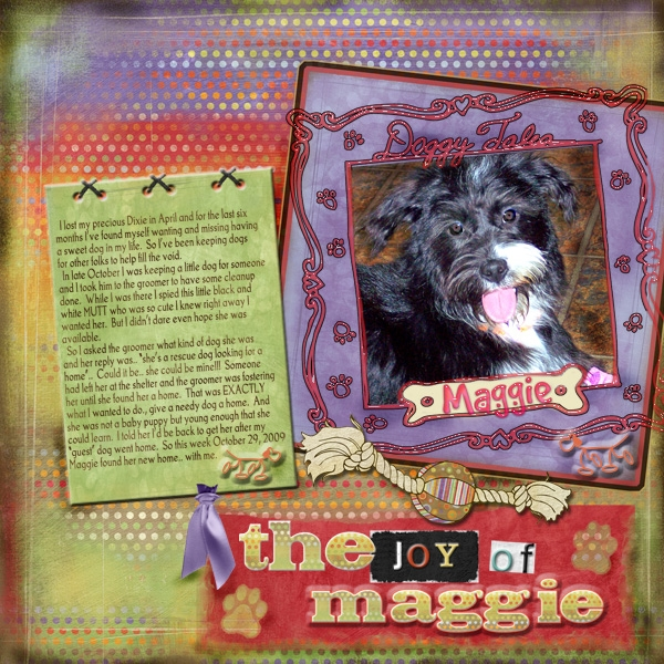 The Joy of Maggie - Saturday Color Challenge