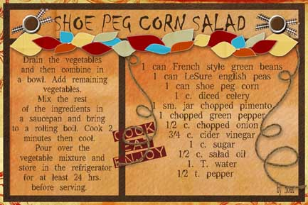 Shoe Peg Corn Salad