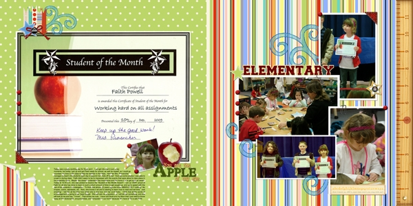 2009 12 10 (Student of the Month Award)