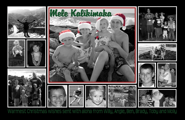 Campbell Christmas Card 2009