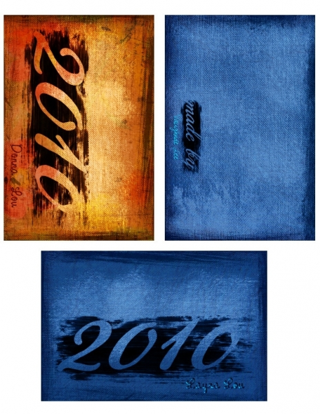 2010 Cover set 1