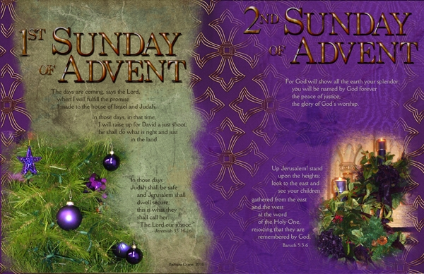 Liturgical Year, Advent Weeks 1 & 2