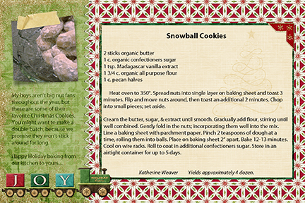 SG Cookie Swap '09 - Snowball Cookies