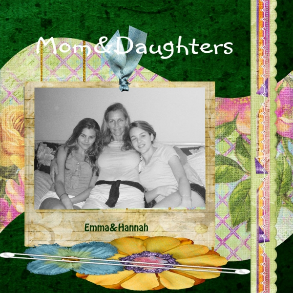 Mother Daughters Hannah&Emma
