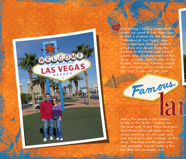 Welcome to Las Vegas Sign pg 1