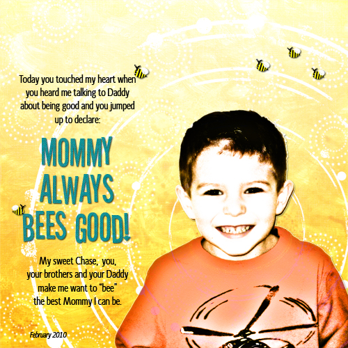 20100212 Mommy Bees Good