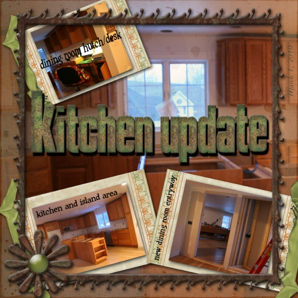KITCHEN UPDATES MARCH