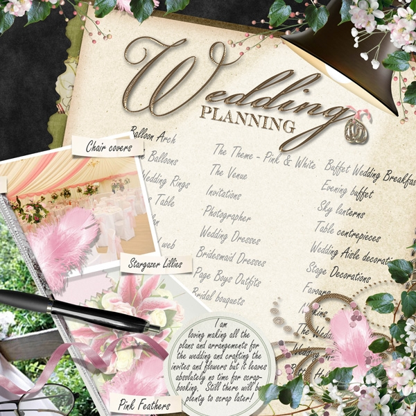Wedding Planning Right Page