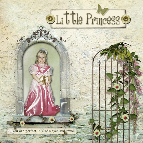 Whimsical Scraplift-Princess