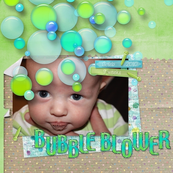 Interactive Embellies - Bubble Blower