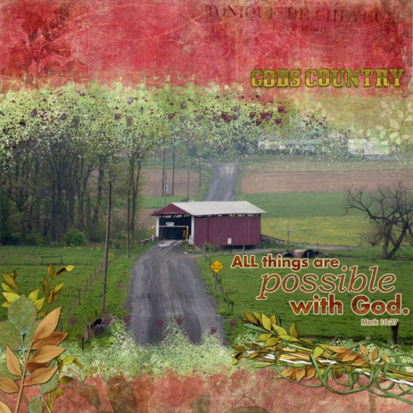 God's County - Interactive Embellishment Chat
