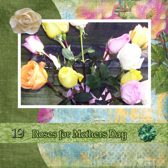 Roses for Mothers Day Right