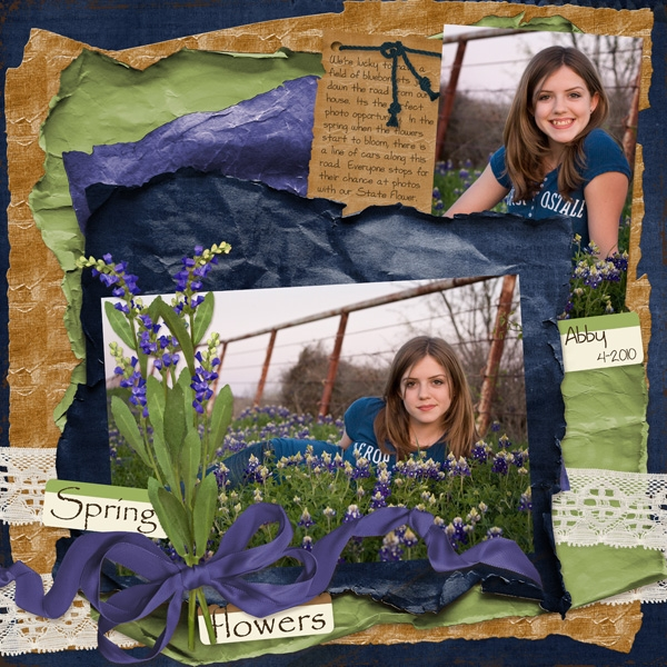 In the Bluebonnets- 5-22 Color Challenge