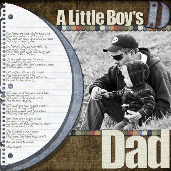 A Little Boy's Dad