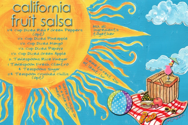 California Fruit Salsa