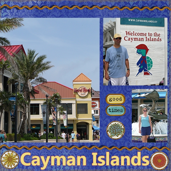 Cayman Islands left