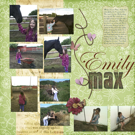 Emily and Max - Left