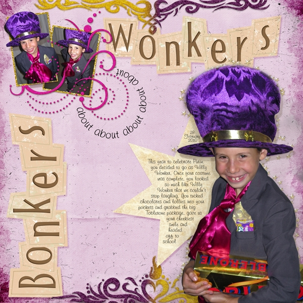 Bonkers about Wonkers