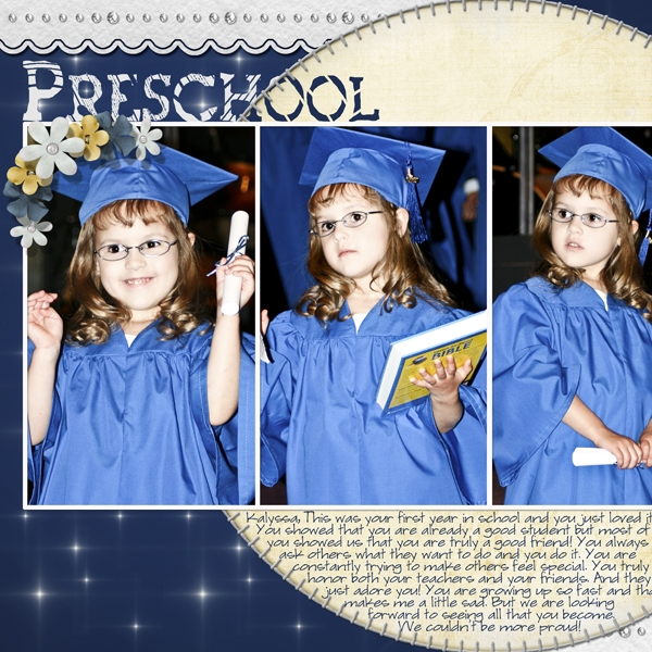 Preschool Graduation (Left)