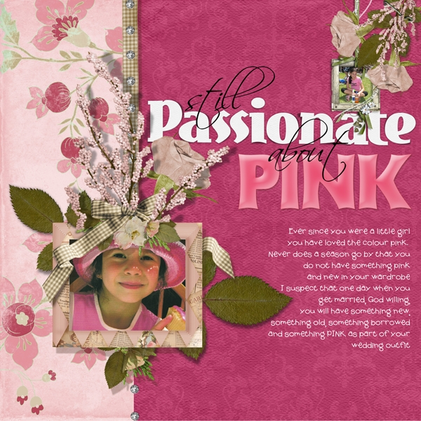 Still passionate about pink