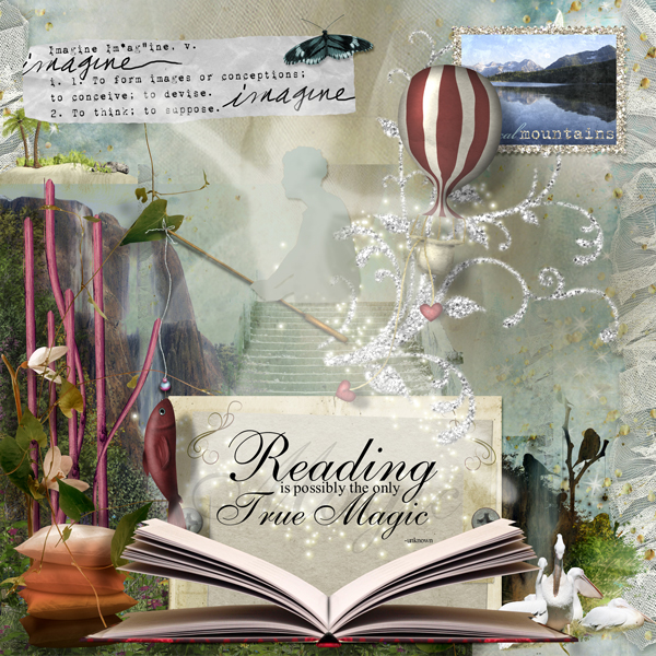 Reading is the Only True Magic