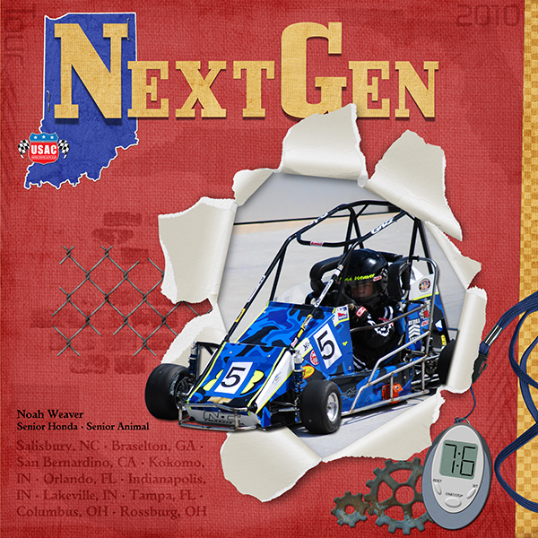 Next Gen Tour 2K10 - Noah Weaver