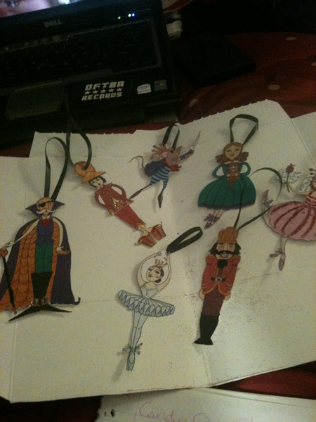 Glittery Nutcracker Suite Ornaments