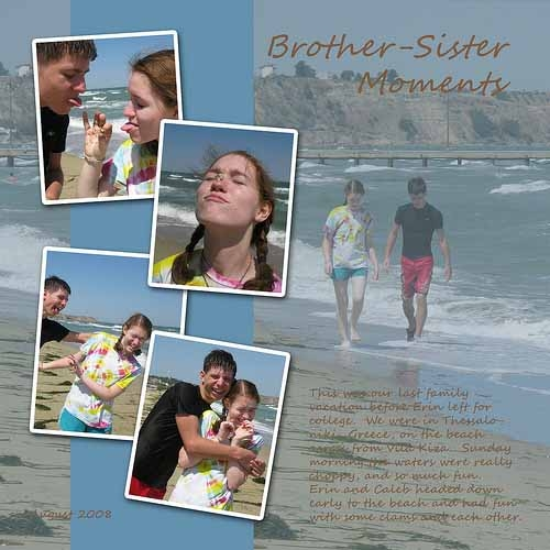 Brother-Sister Moments