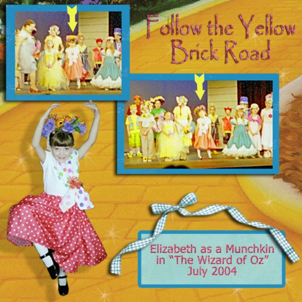 Follow the Yellow Brick Road - Thurs. Curve Challenge