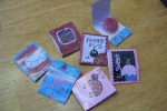 Hybrid Valentine Project : Candy Matchbooks