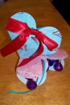Valentine Hybrid: Candy filled Paper Heart