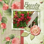Tues Freebie challenge- Beauty Seen
