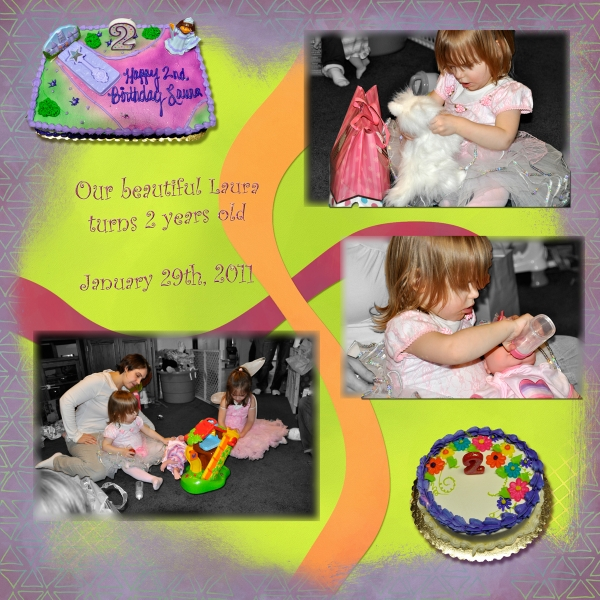 Project SG 2011 January Week 4 Leftt: Laura&#39;s 2nd Birthday